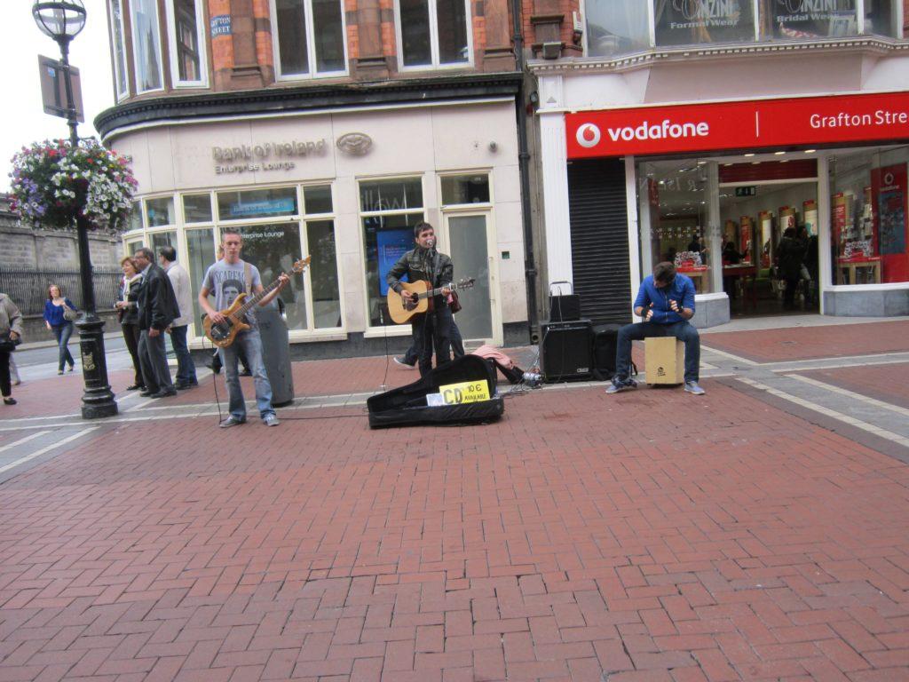 Street Musicians at Grafton Street, Dublin
