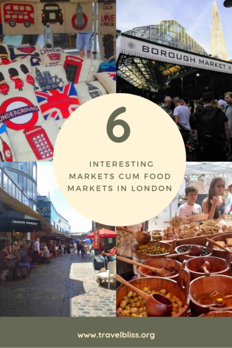 6 Interesting Markets in London