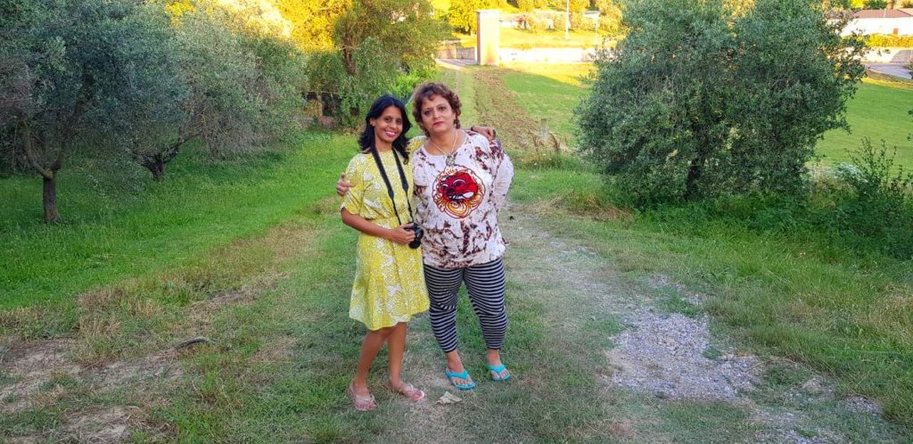 Maria with Manjiri - Tuscany