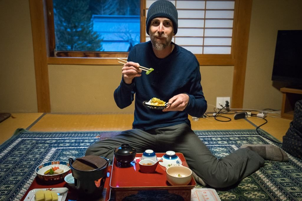Sampling Buddhist Monks cuisine at a shukubo in Koyasan, Japan