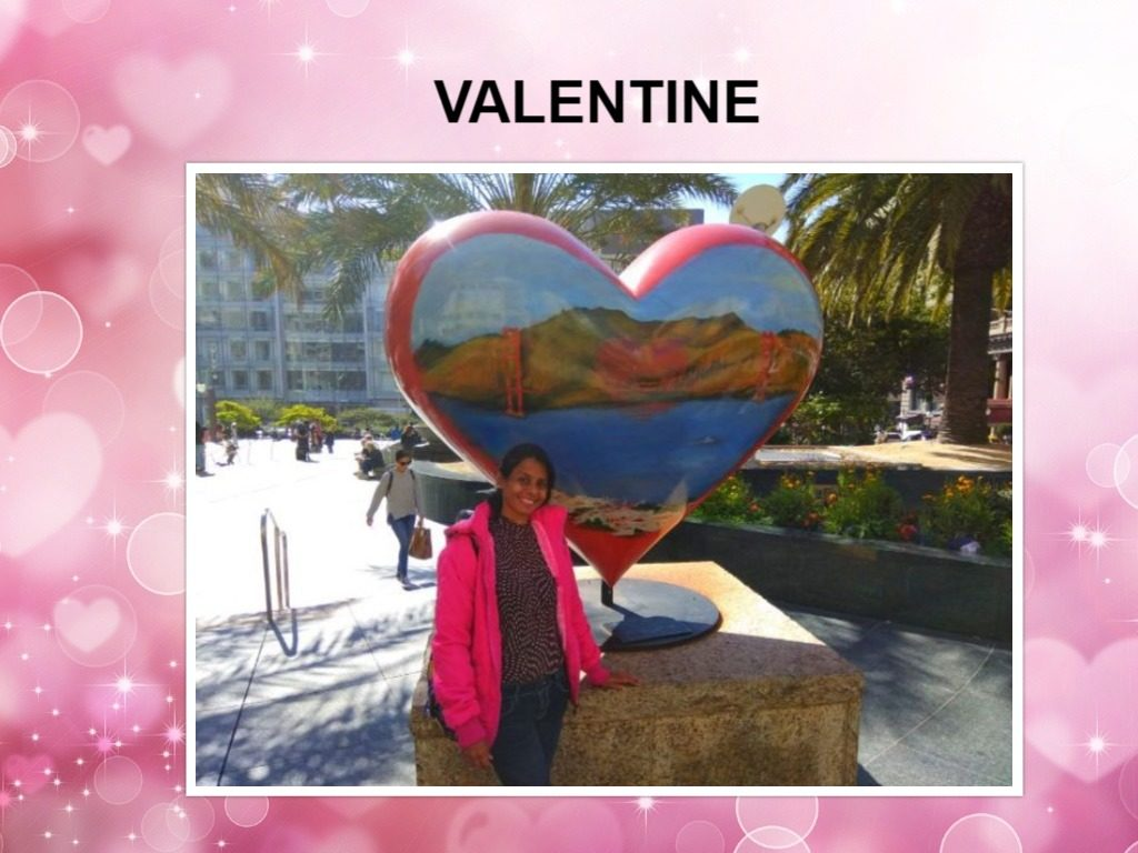 Valentine: My tribute to my love - travel.