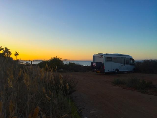 Interview Series - TGD wild camping La Manga Spain Mar19