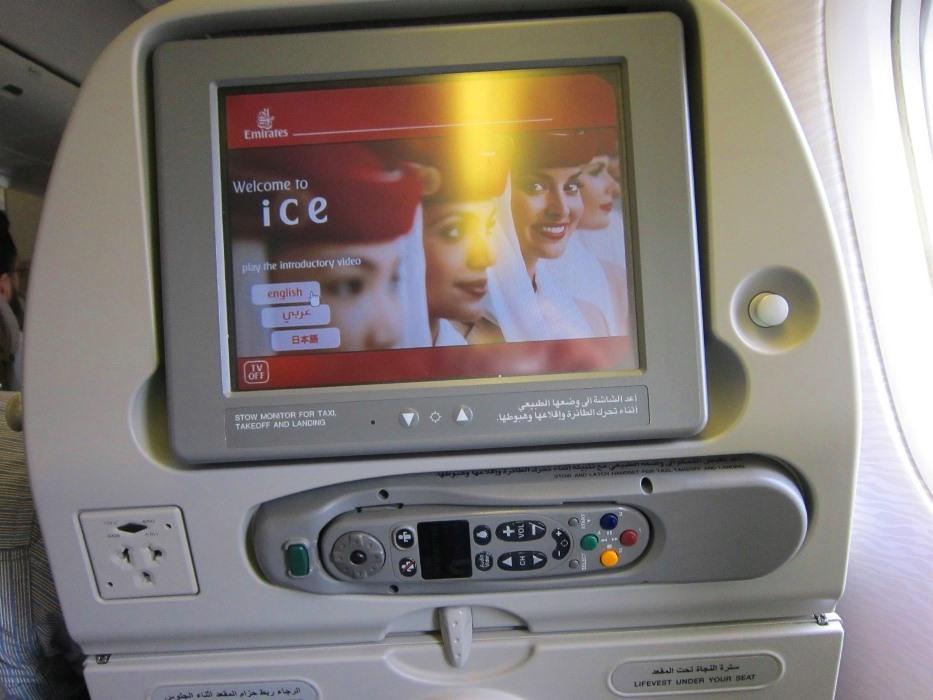 Random conversations on my first solo International flight