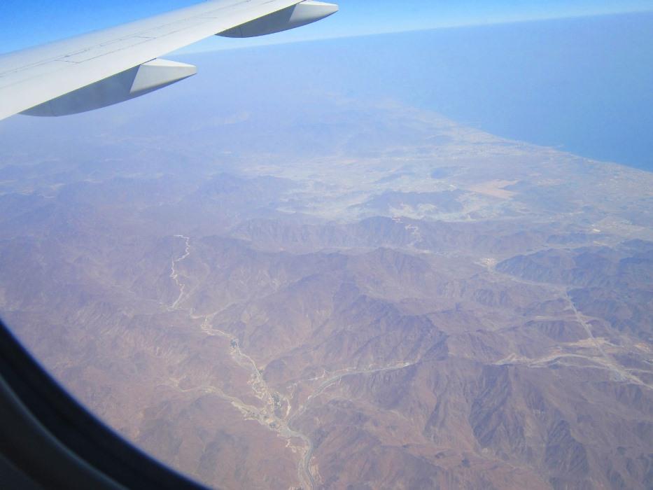 Flight overlooking Dubai!