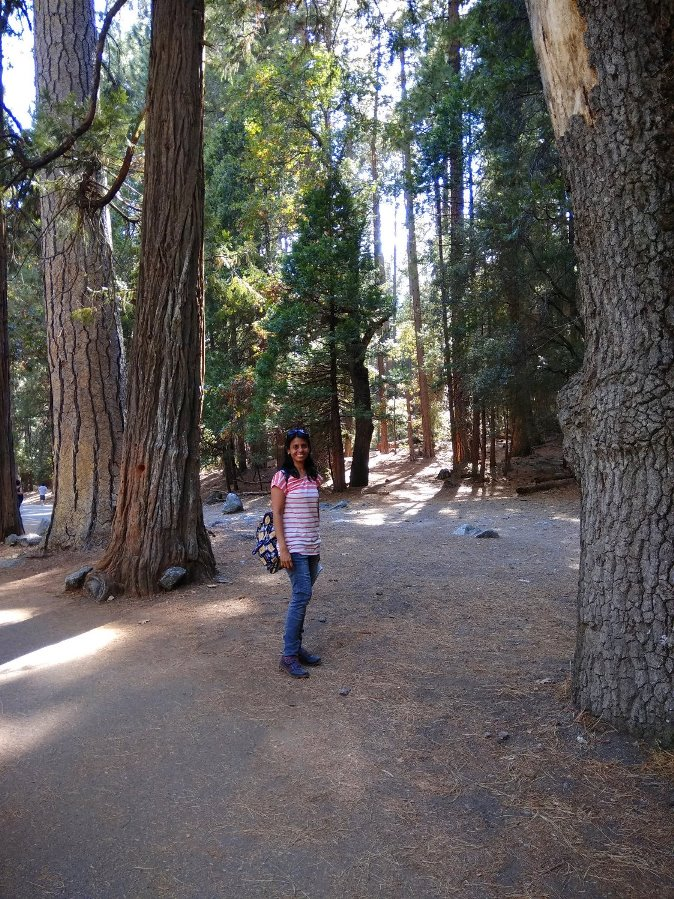 At Yosemite National Park, USA