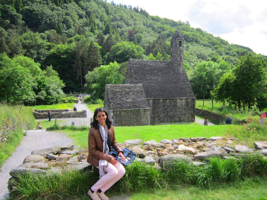 At Glendalough, Ireland