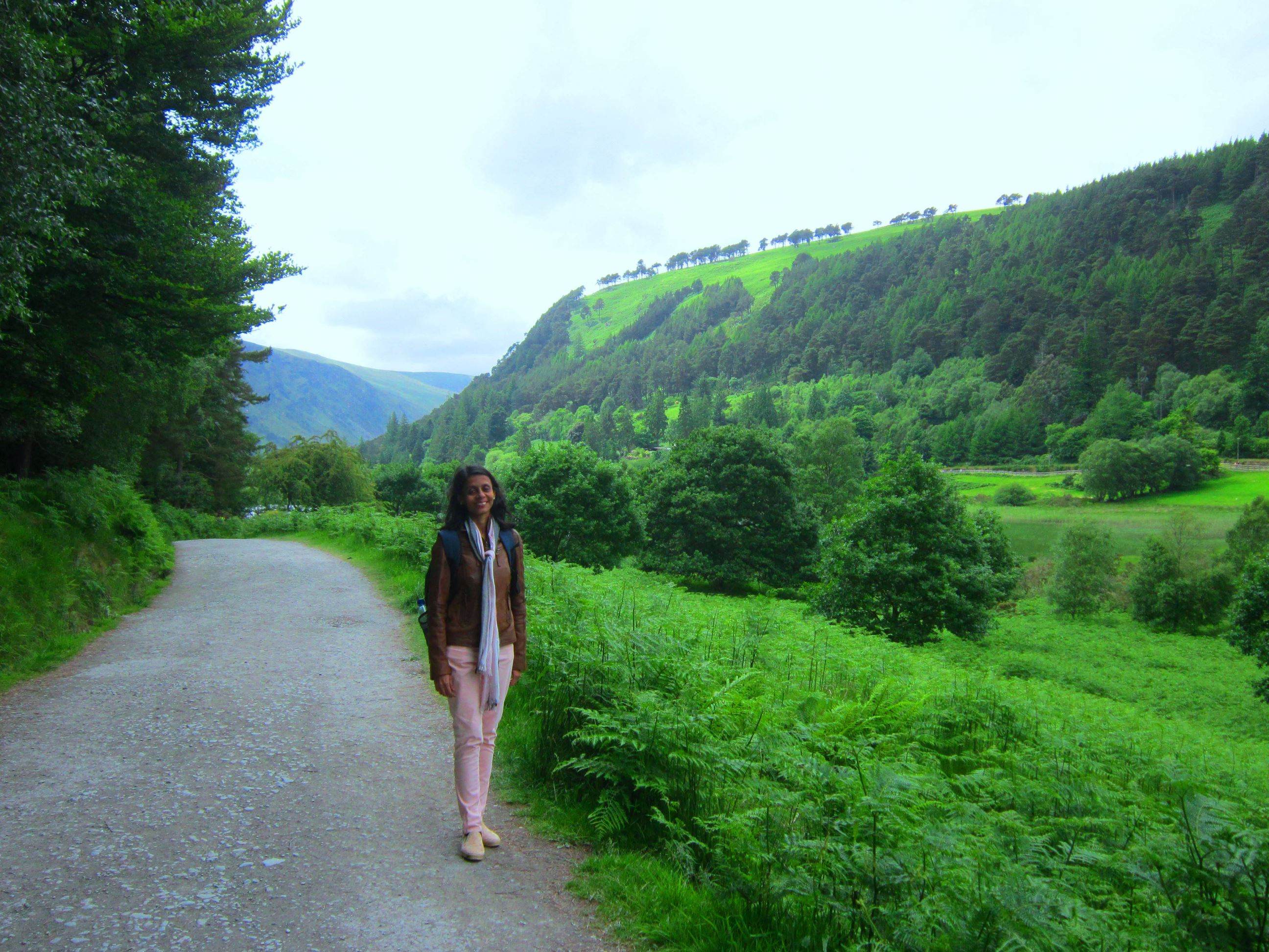 At Wicklow Mountains, Ireland