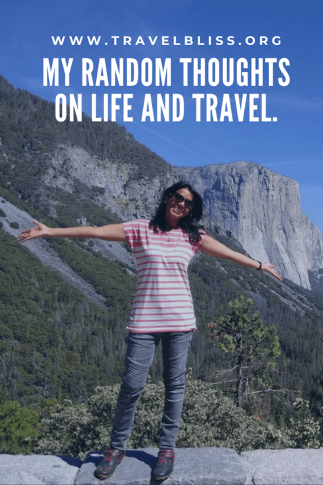 Travelbliss - My Random Thoughts on Life and Travel.